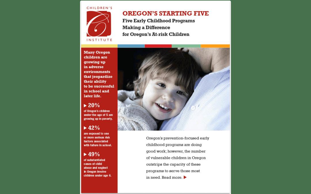 Oregon's Starting Five