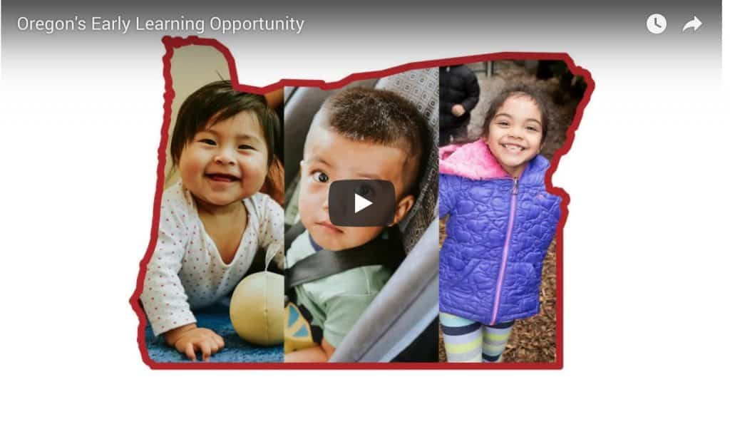 Oregon's Early Learning Opportunity
