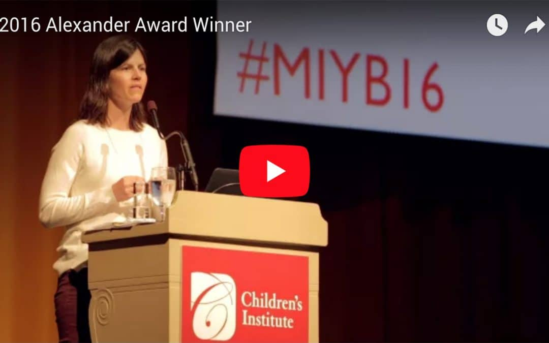 2016 MIYB: 4th Alexander Award presented to Wallowa County