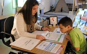 Erika Nelson at John Wetten Elementary