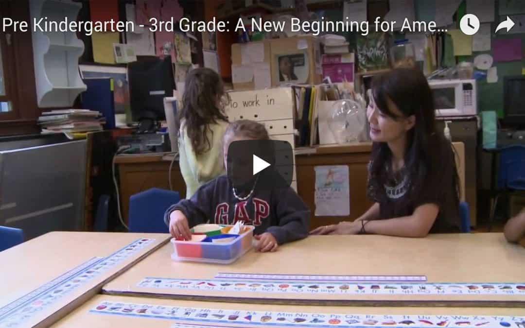 Pre-Kindergarten through 3rd Grade