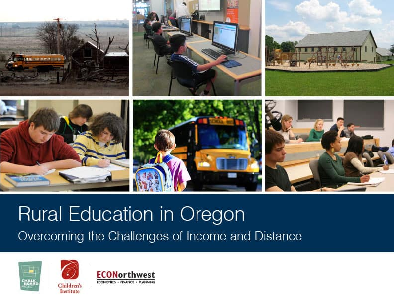 Rural Education in Oregon