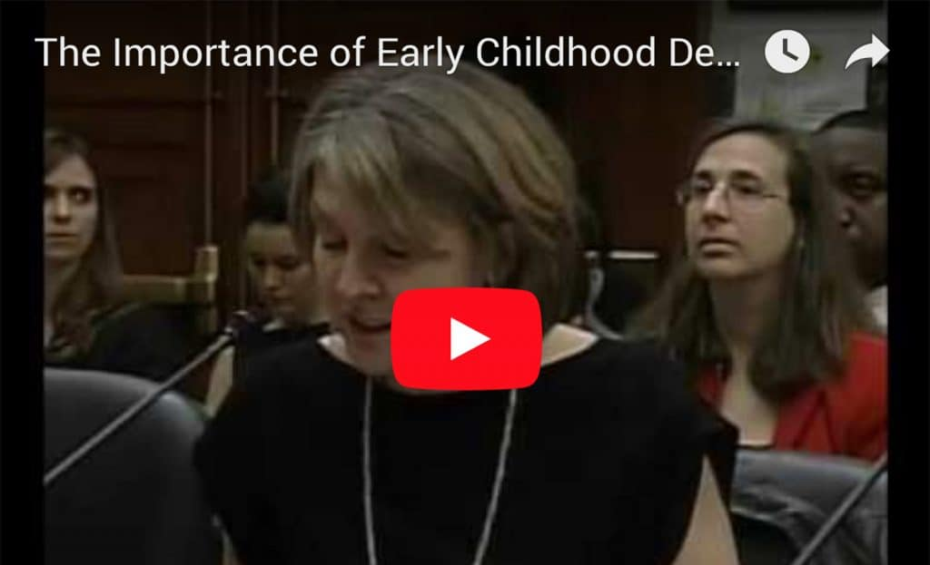 The Importance of Early Childhood Development: Harriet Meyer