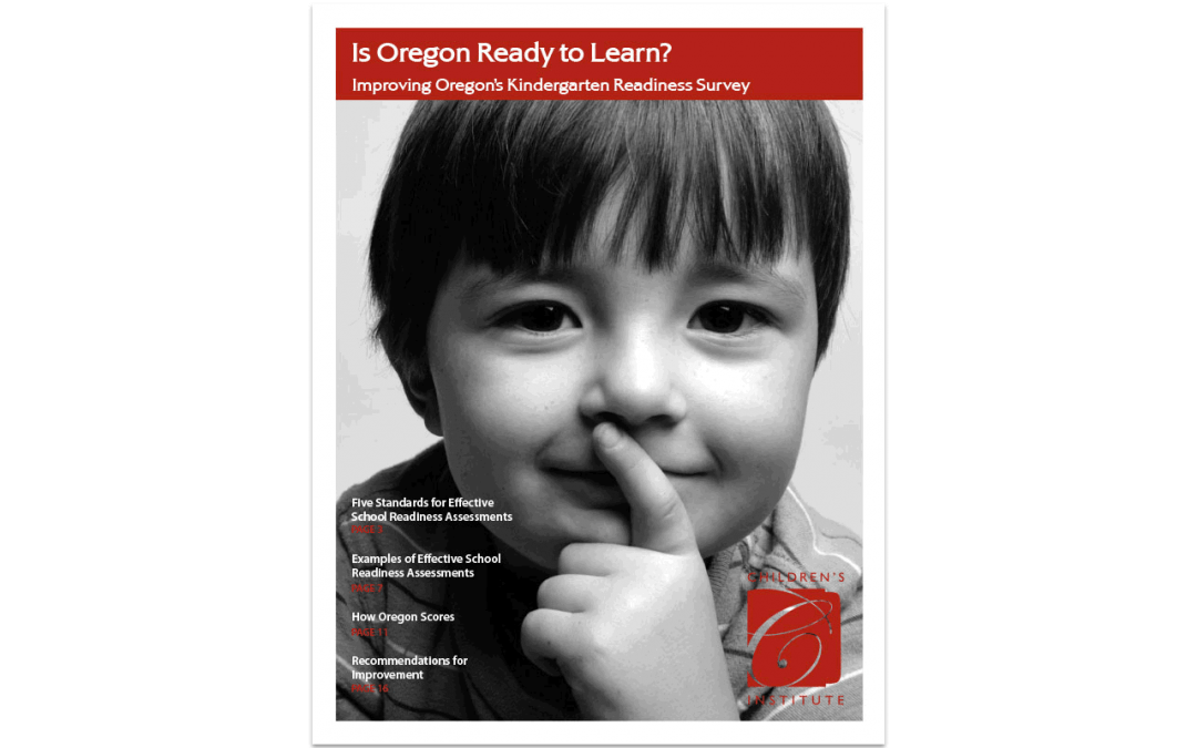 Is Oregon Ready to Learn?