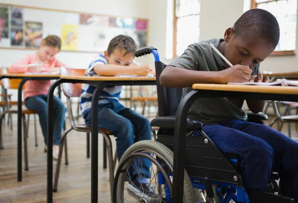 Child experiencing disability