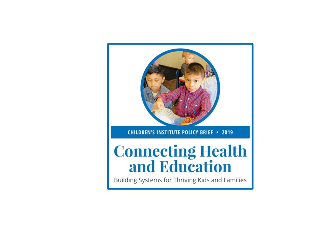 Connecting Health and Education