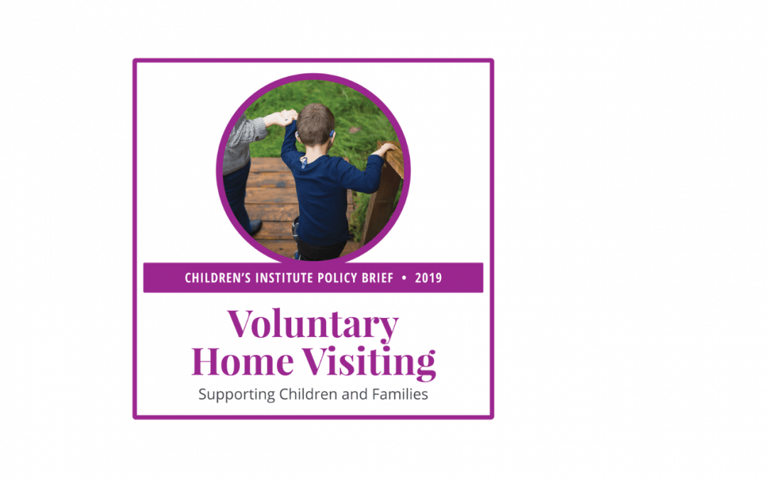 Home Visiting: 2019 Policy Brief