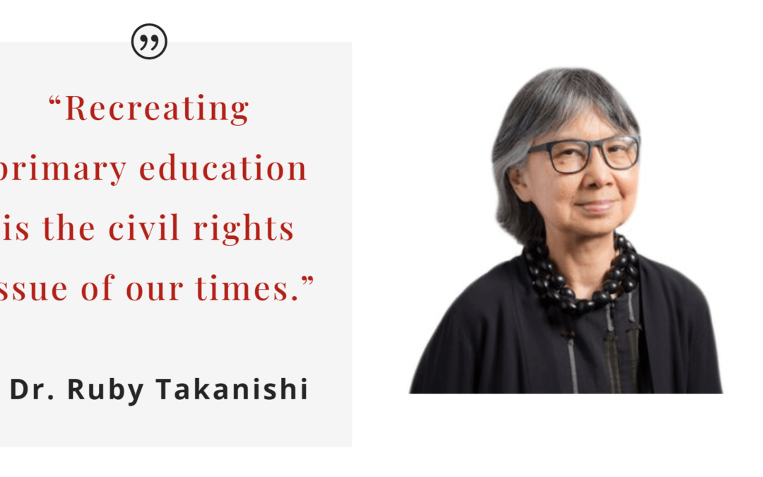 Honoring Dr. Ruby Takanishi